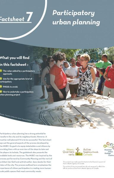 Fact Sheet - Participatory Urban Planning