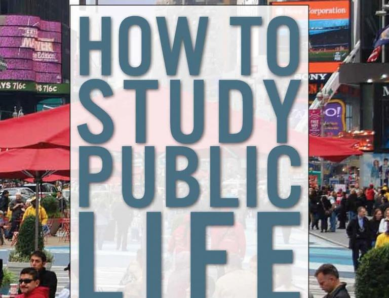 How to study public life - Cover