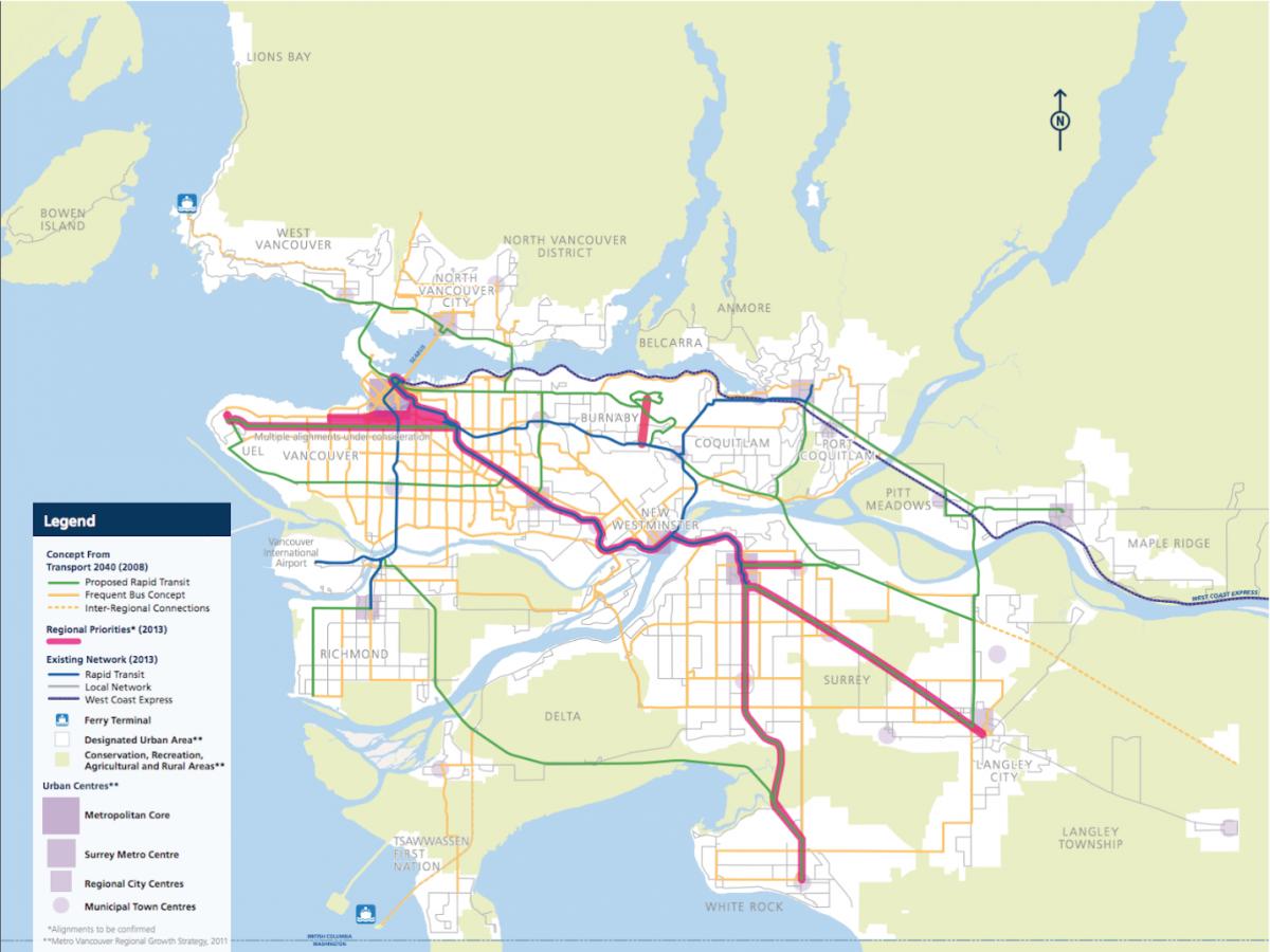 Metro Vancouver TransLink Regional Transportation Strategy