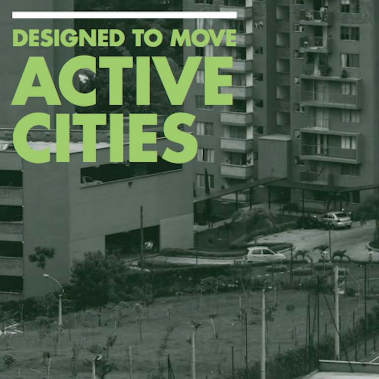 Designed to move report cover