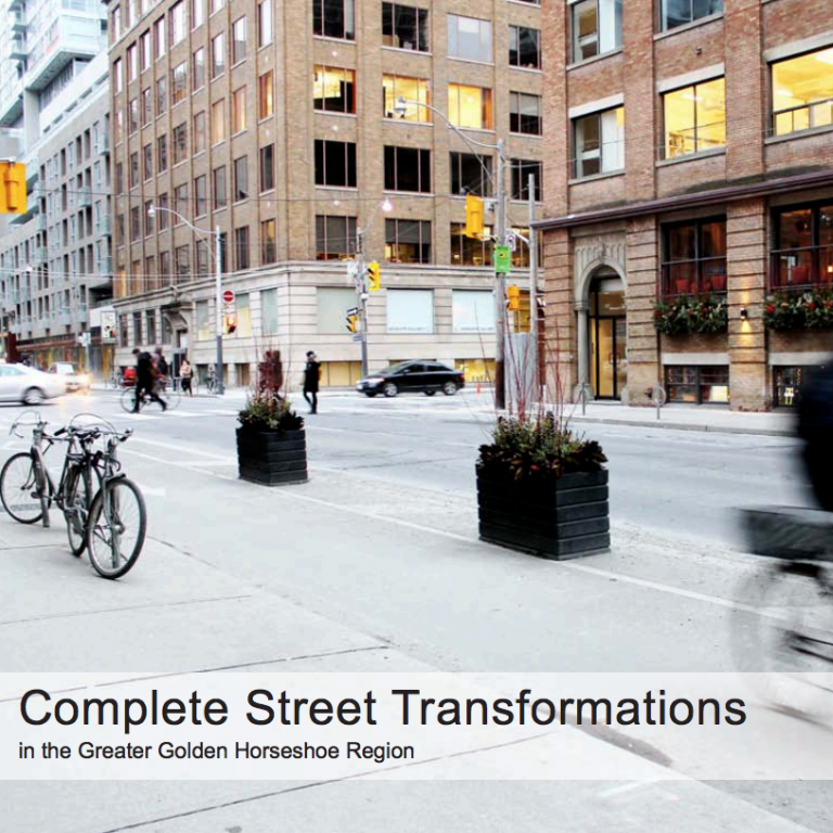 Complete Streets Transformations Cover